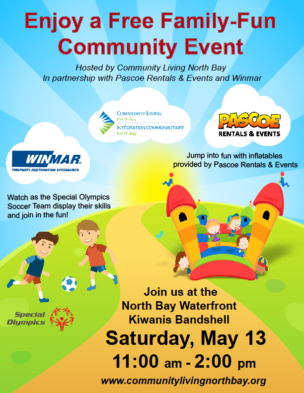 Community Living Community Event Poster