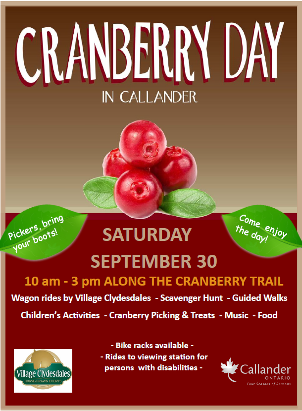 Cranberry Day