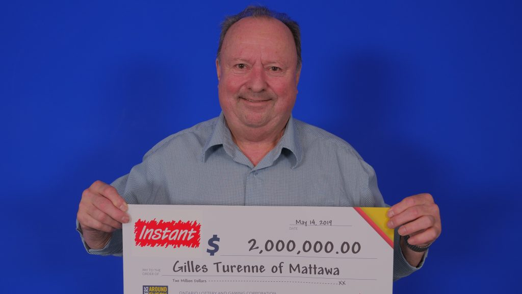 $2 million lottery win in Mattawa - KiSS 100 5 North Bay